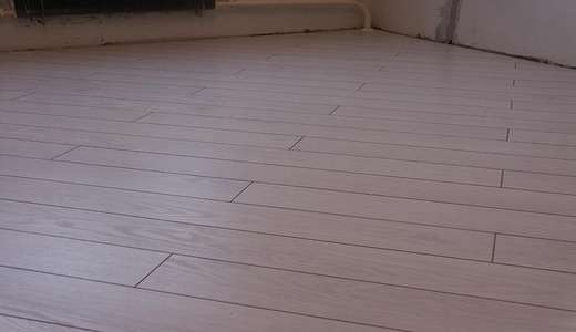 How to set laminate diagonally